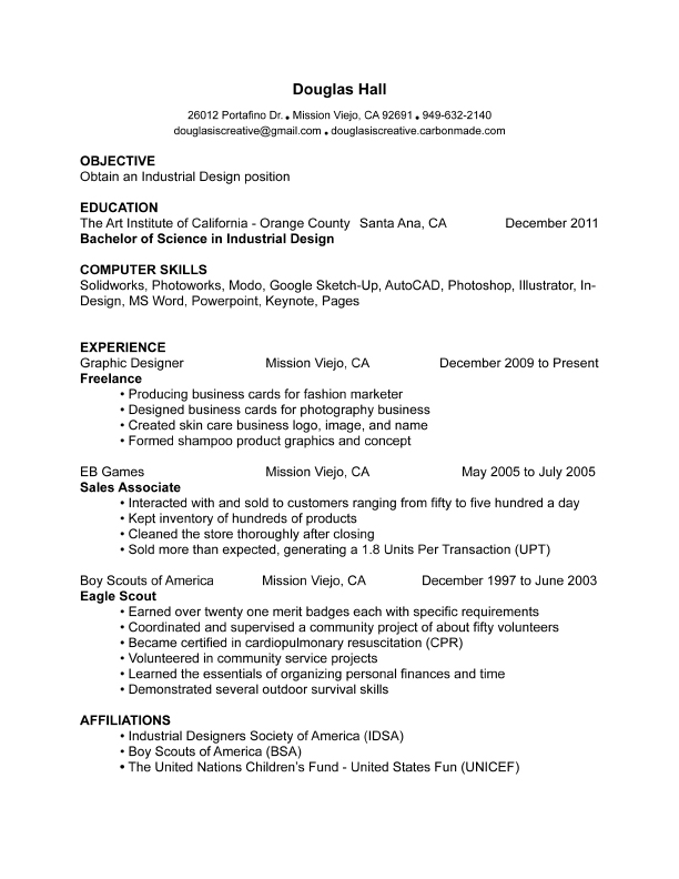 Resume: Student Resume, Fresh Graduate Resume, Nurse Graduate Resume ...